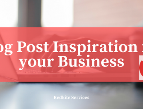 Blog Post Inspiration for your Business