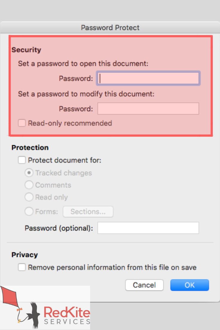How to Password Protect a Word Document