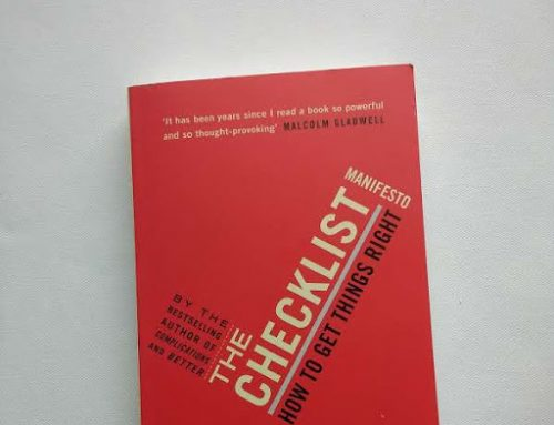 Book Review: The Checklist Manifesto by Atul Gawande